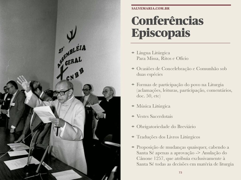 Conferências Episcopais Língua Litúrgica Para M...