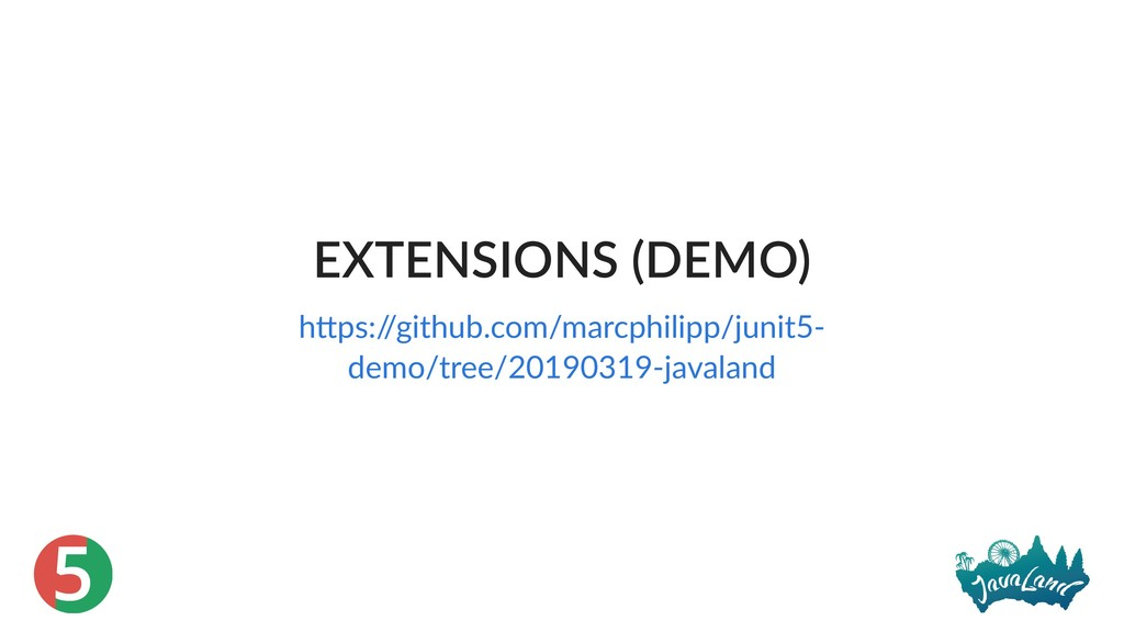 5 EXTENSIONS (DEMO) h ps:/ /github.com/marcphil...