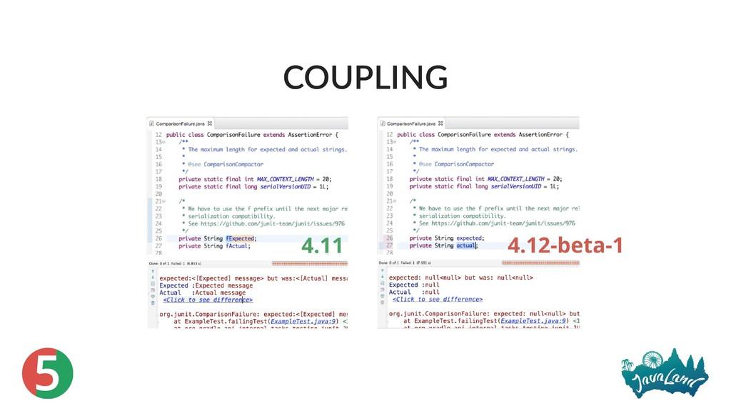 5 COUPLING