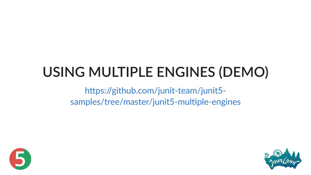 5 USING MULTIPLE ENGINES (DEMO) h ps:/ /github....