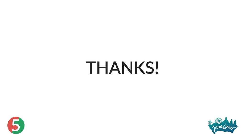 5 THANKS!