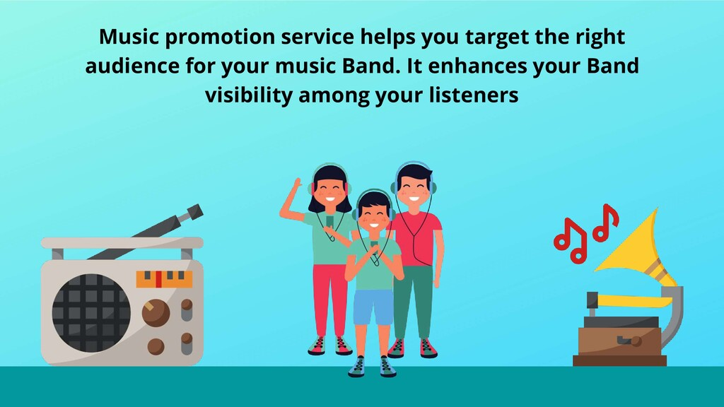 Music promotion service helps you target the ri...