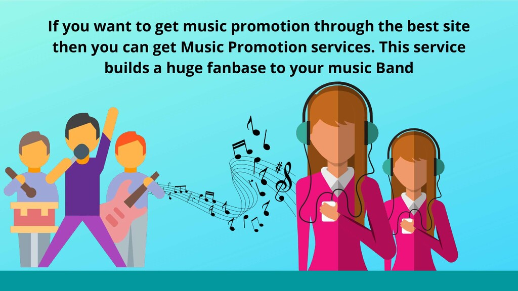 If you want to get music promotion through the ...