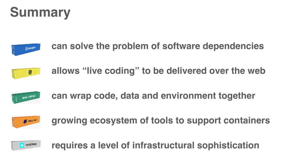 Summary can solve the problem of software depen...