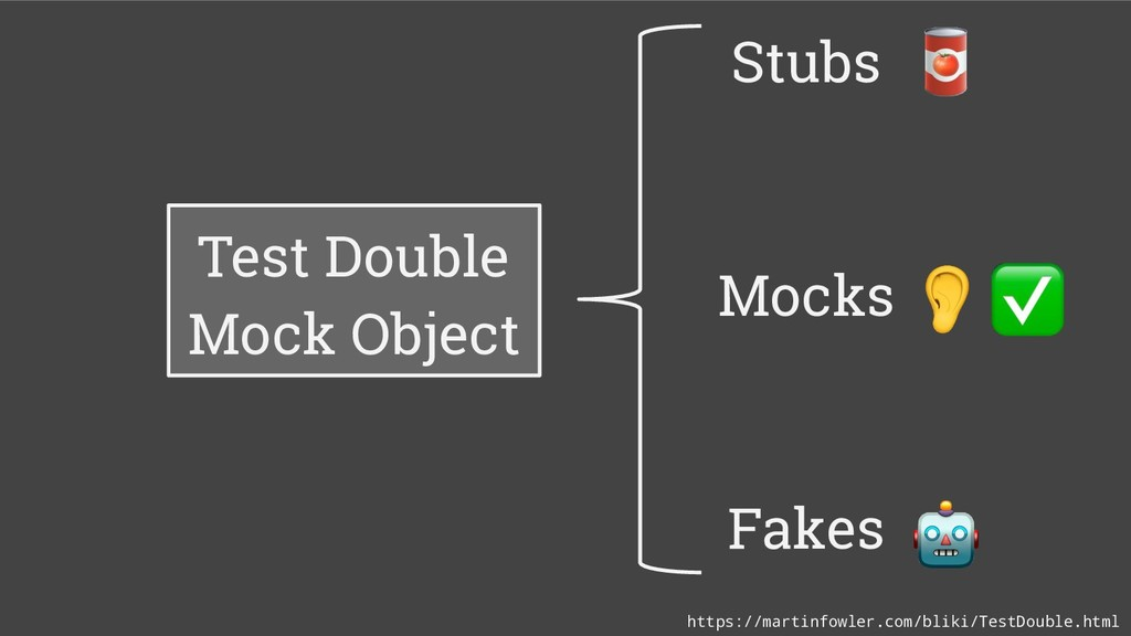 Test Double Mock Object Stubs Mocks Fakes https...