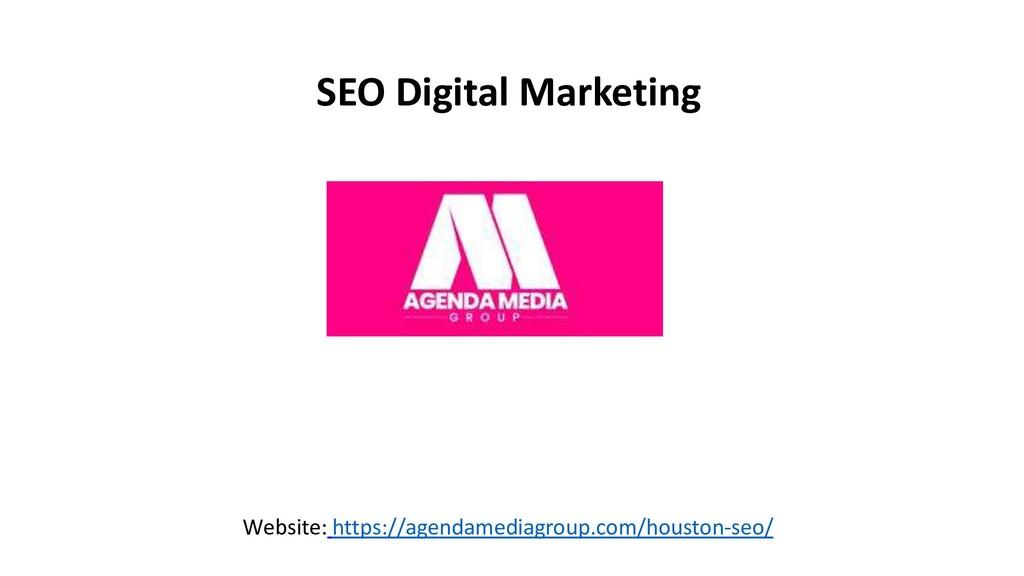 SEO Digital Marketing Website: https://agendame...