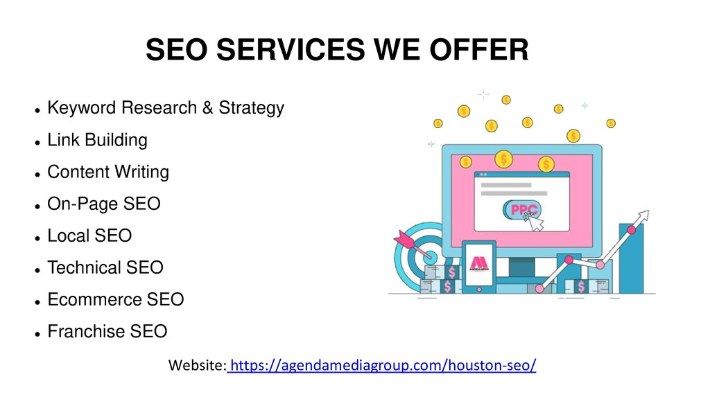 SEO SERVICES WE OFFER  Keyword Research & Stra...