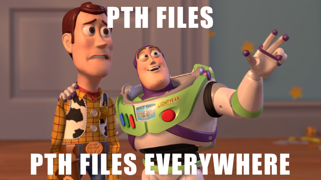 PTH FILES PTH FILES EVERYWHERE