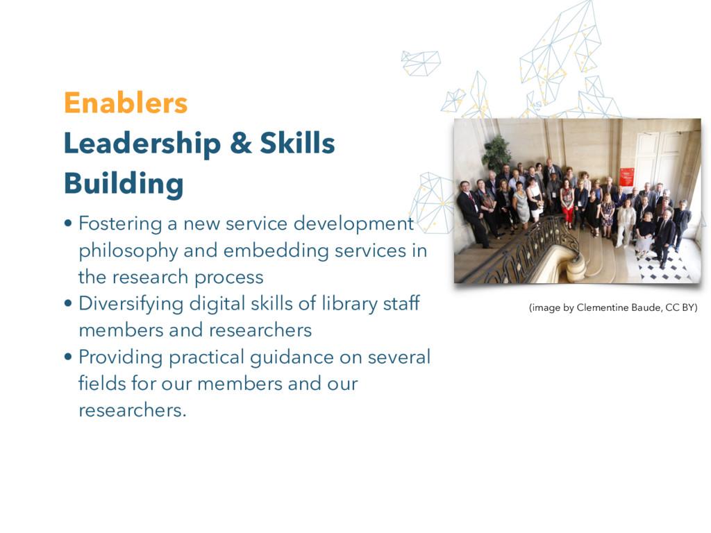 Enablers Leadership & Skills Building (image by...