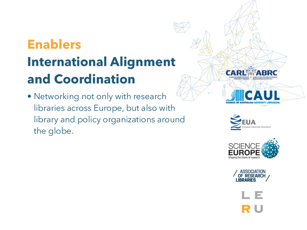 Enablers International Alignment and Coordinati...
