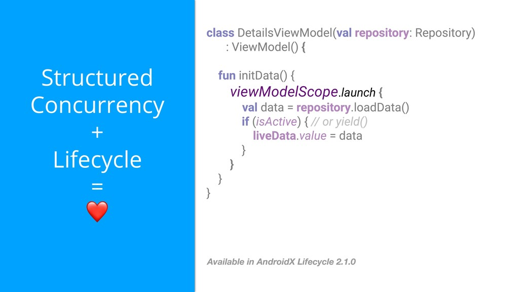 Structured Concurrency + Lifecycle = ❤ viewMode...