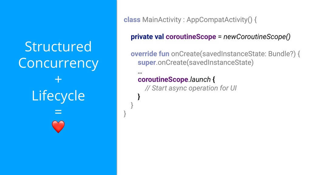 Structured Concurrency + Lifecycle = ❤ private ...