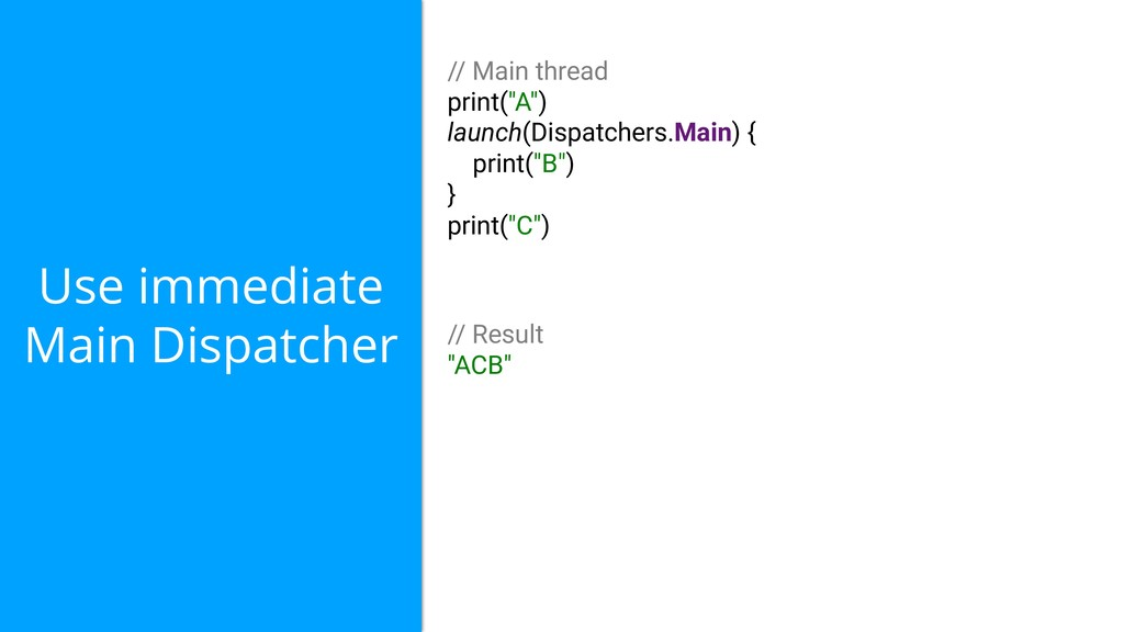 Use immediate Main Dispatcher // Main thread pr...