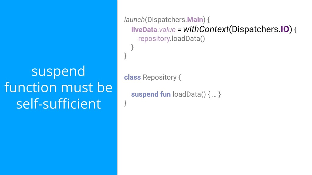 = withContext(Dispatchers.IO) suspend function ...