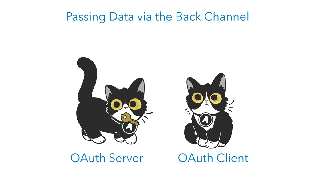 OAuth Server OAuth Client Passing Data via the ...