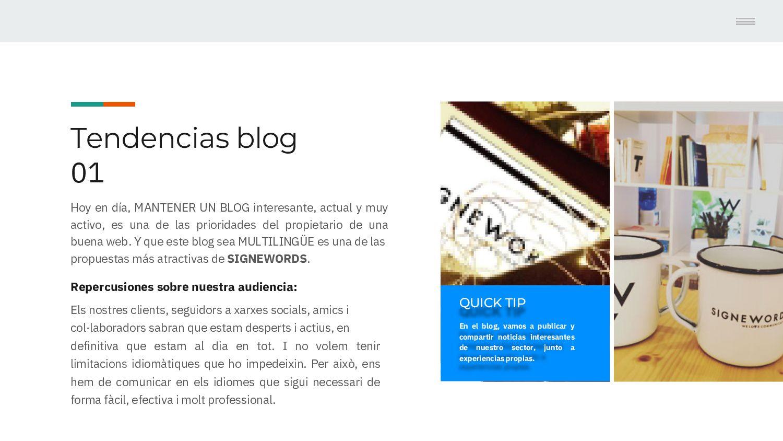 Tendencias blog 01 Hoy en día, MANTENER UN BLOG...