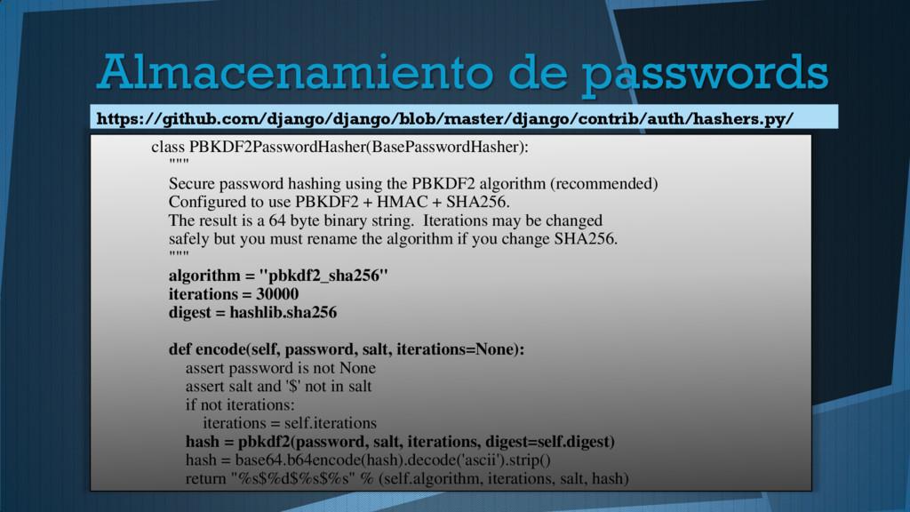class PBKDF2PasswordHasher(BasePasswordHasher):...