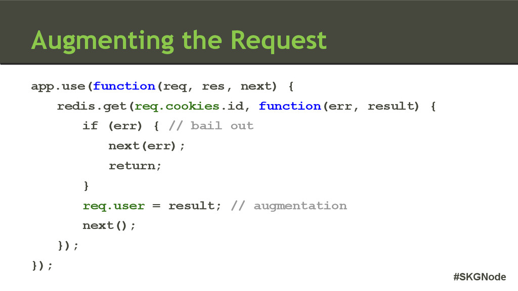 #SKGNode Augmenting the Request app.use(functio...