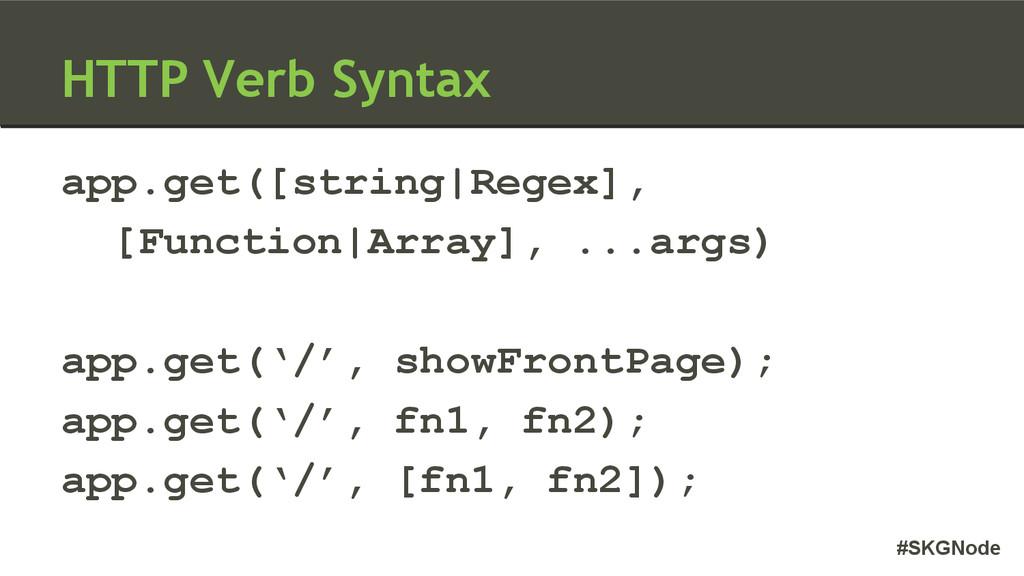 #SKGNode app.get([string|Regex], [Function|Arra...