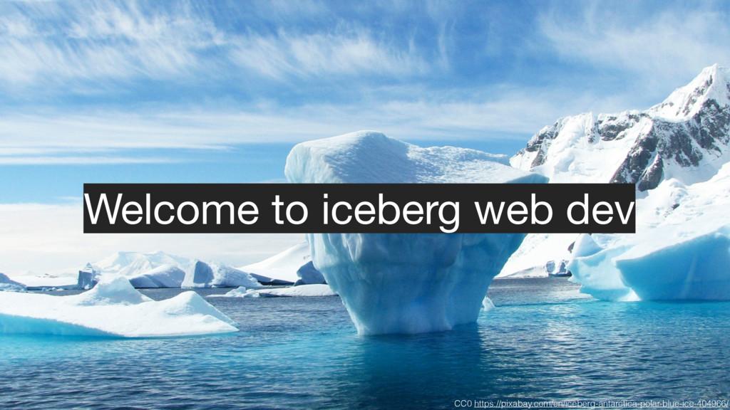 CC0 https://pixabay.com/en/iceberg-antarctica-p...