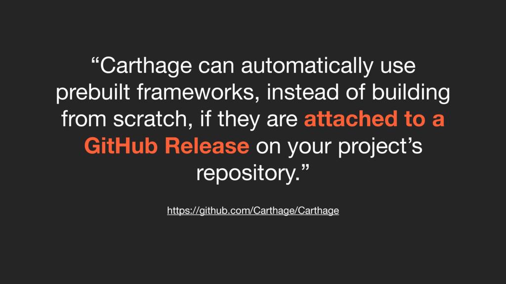 "https://github.com/Carthage/Carthage ""Carthage ..."