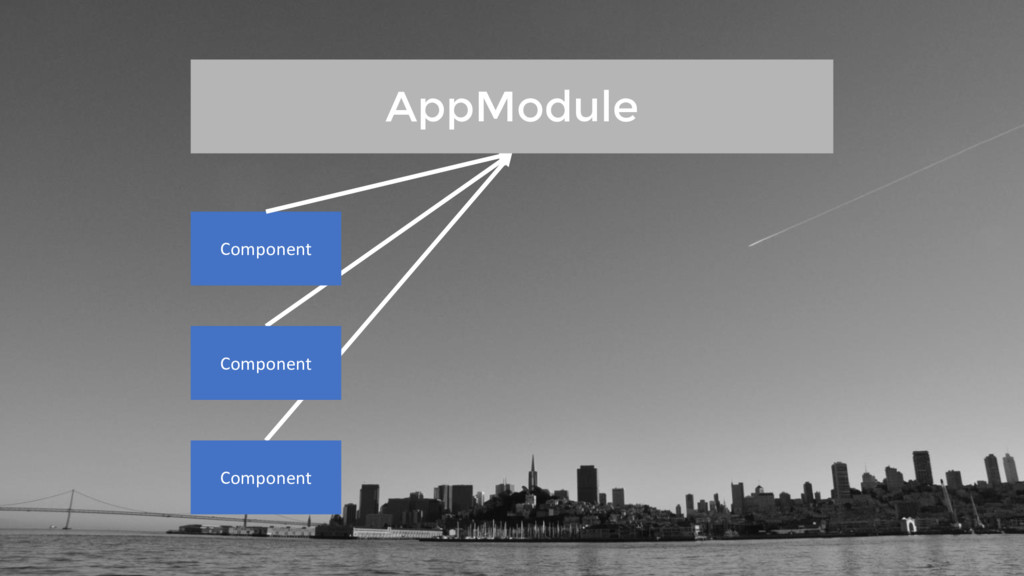 Component Component Component AppModule