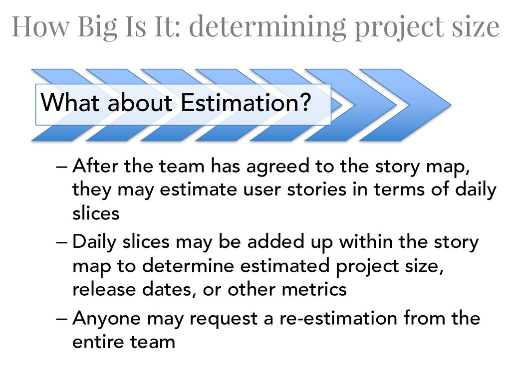 How Big Is It: determining project size – After...