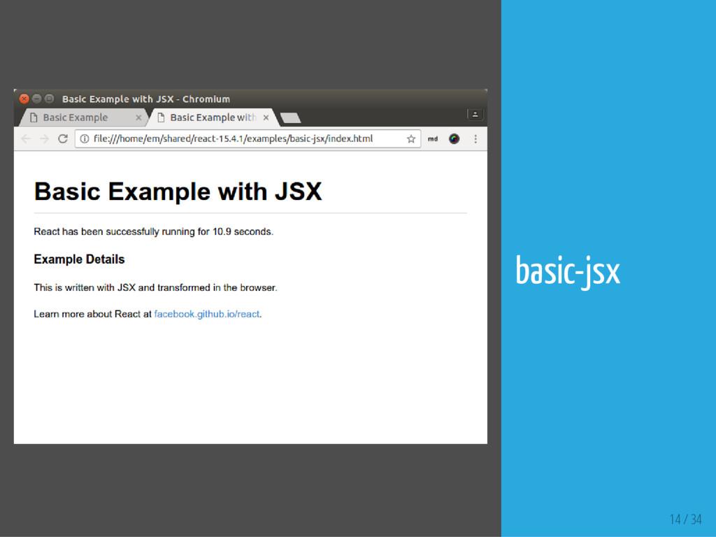 14 / 34 basic-jsx