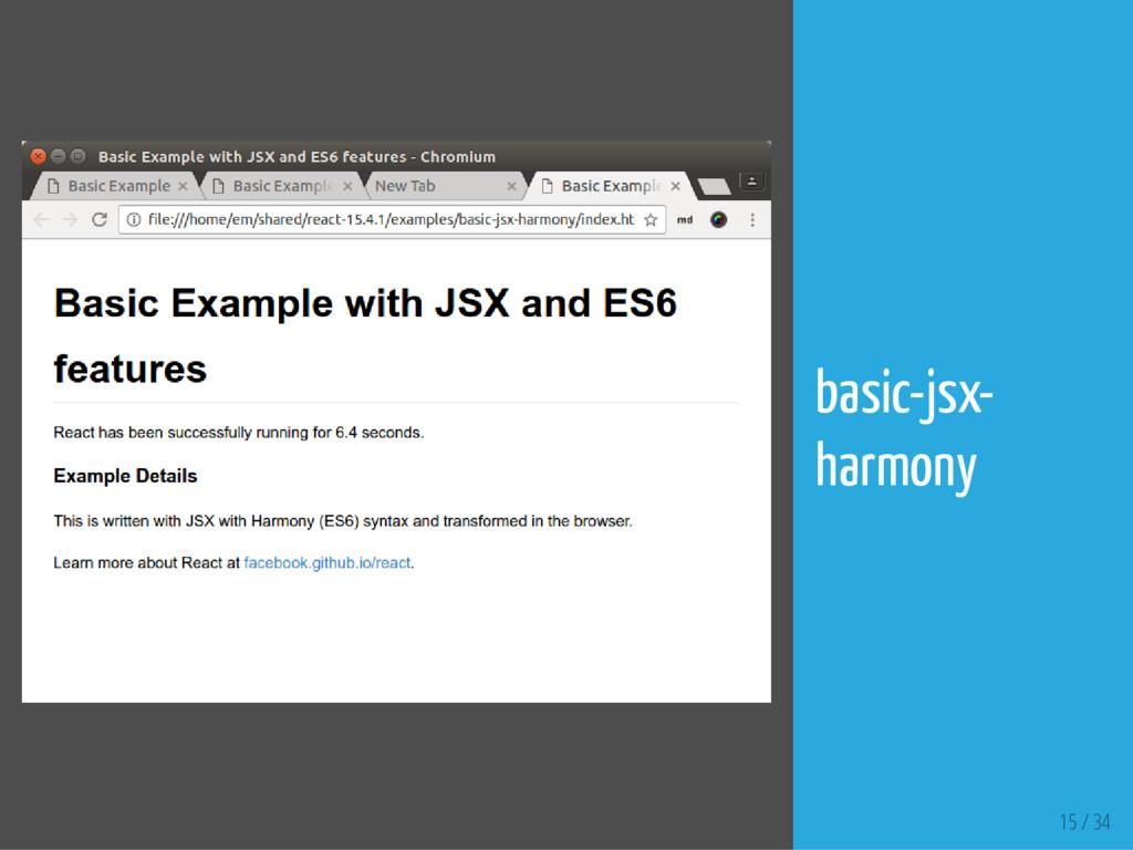 15 / 34 basic-jsx- harmony