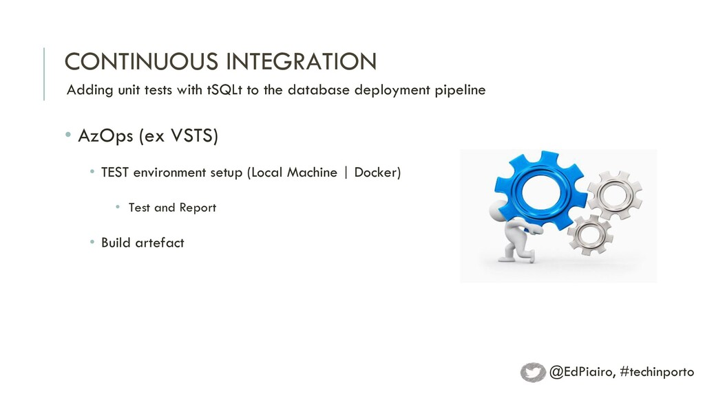 CONTINUOUS INTEGRATION Adding unit tests with t...