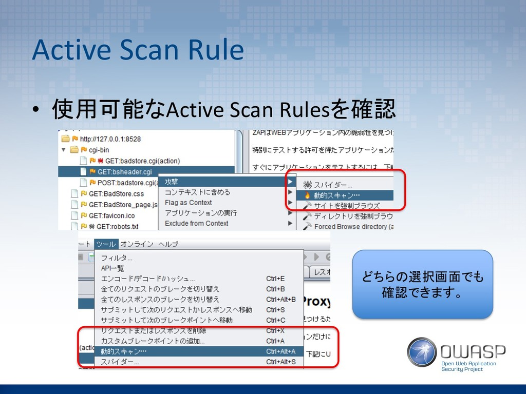 Active Scan Rule • Active Scan Rules ...