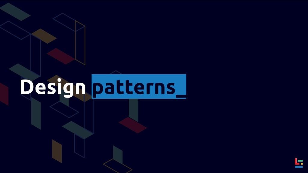 Design patterns_