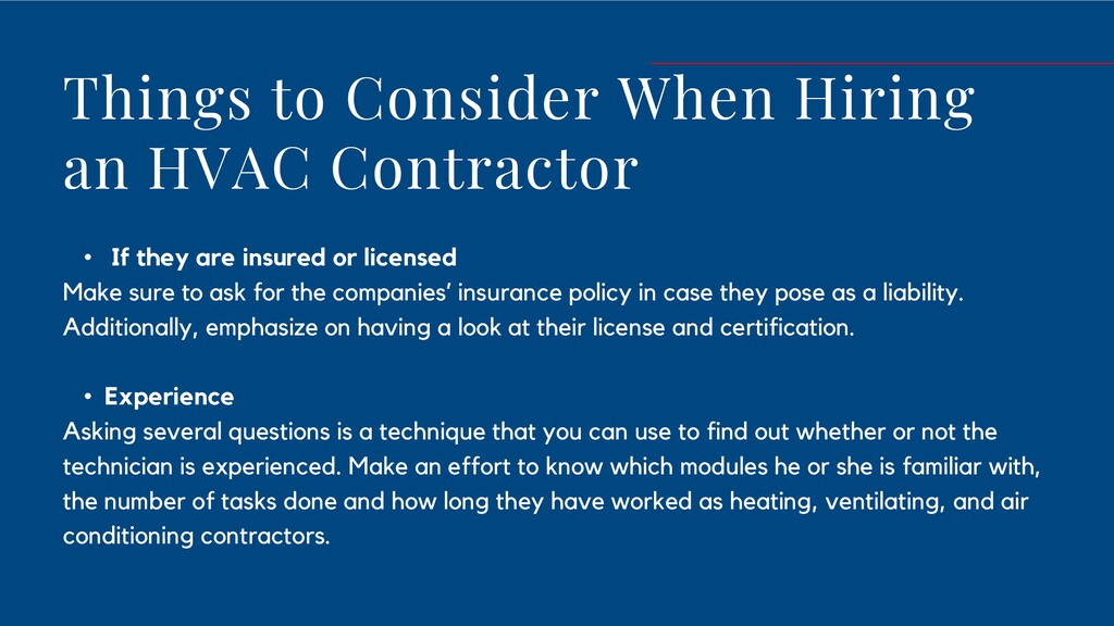 Components Of A Hvac Contractor Speaker Deck