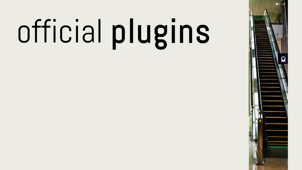 official plugins