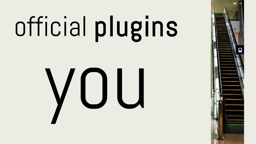 official plugins you
