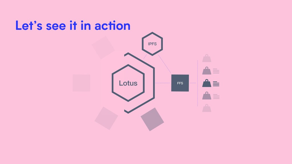 Lotus FFS IPFS Let's see it in action