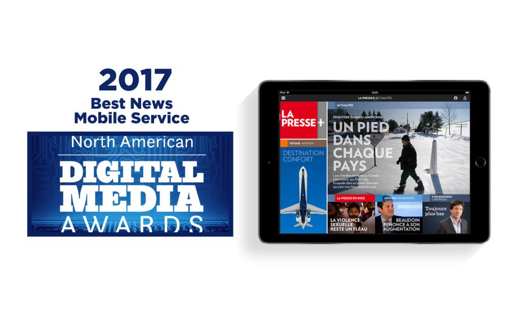 2017 Best News Mobile Service
