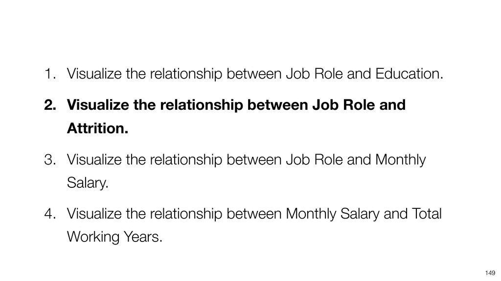 149 1. Visualize the relationship between Job R...