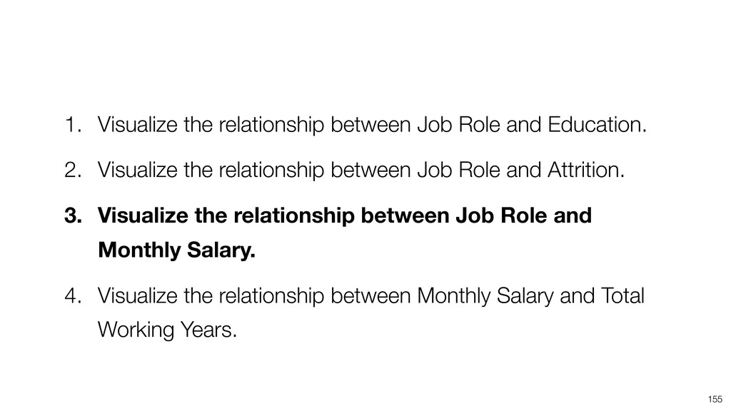 155 1. Visualize the relationship between Job R...