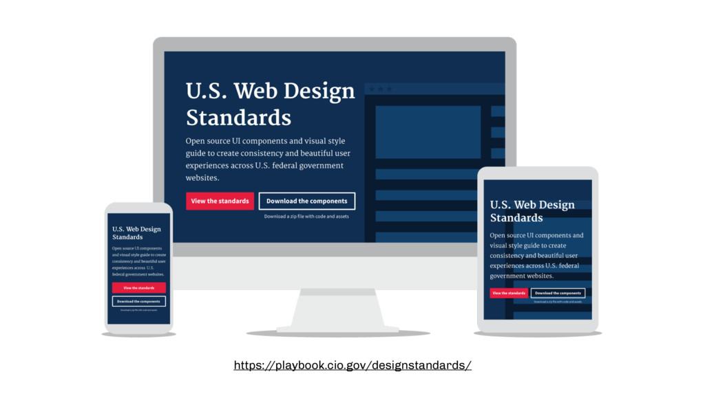 https:/ /playbook.cio.gov/designstandards/
