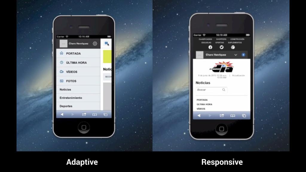 Adaptive Responsive