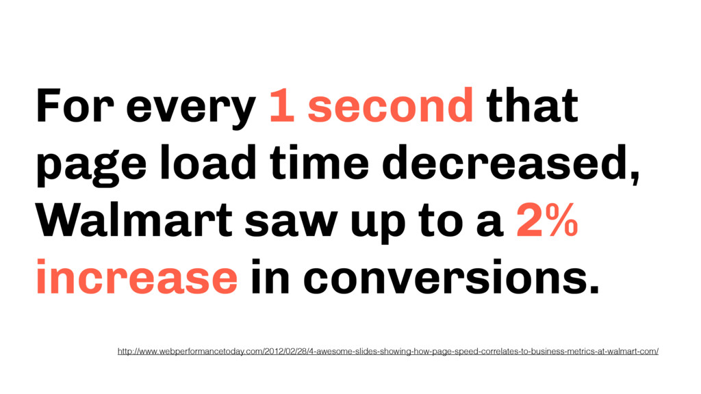 For every 1 second that page load time decrease...