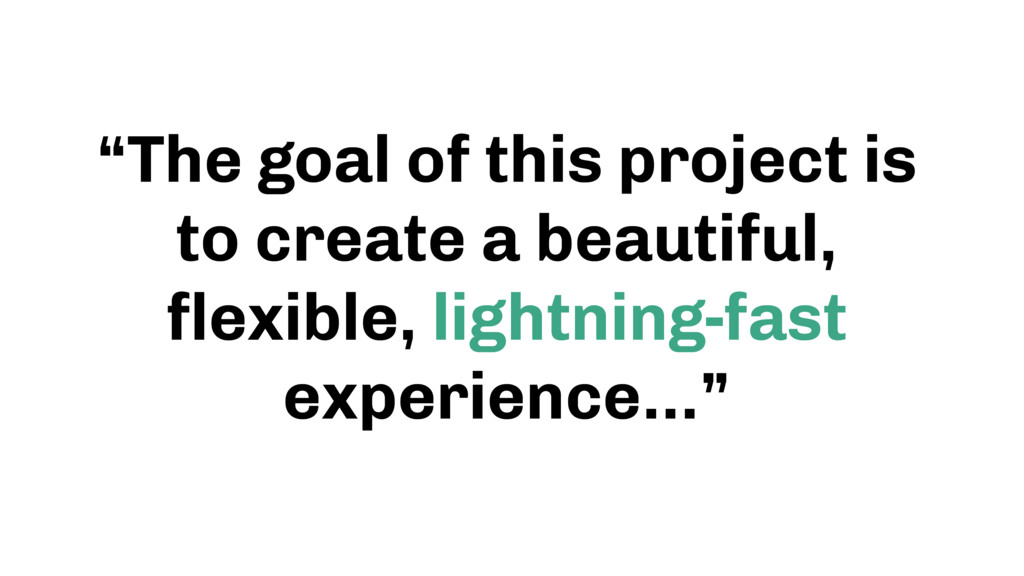 """""""The goal of this project is to create a beauti..."""