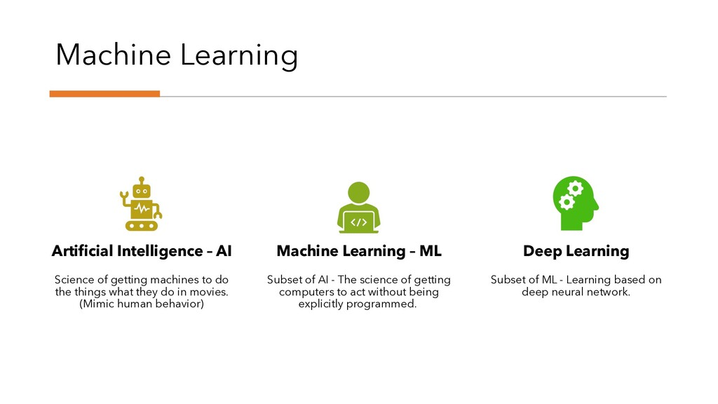 Machine Learning Artificial Intelligence – AI S...