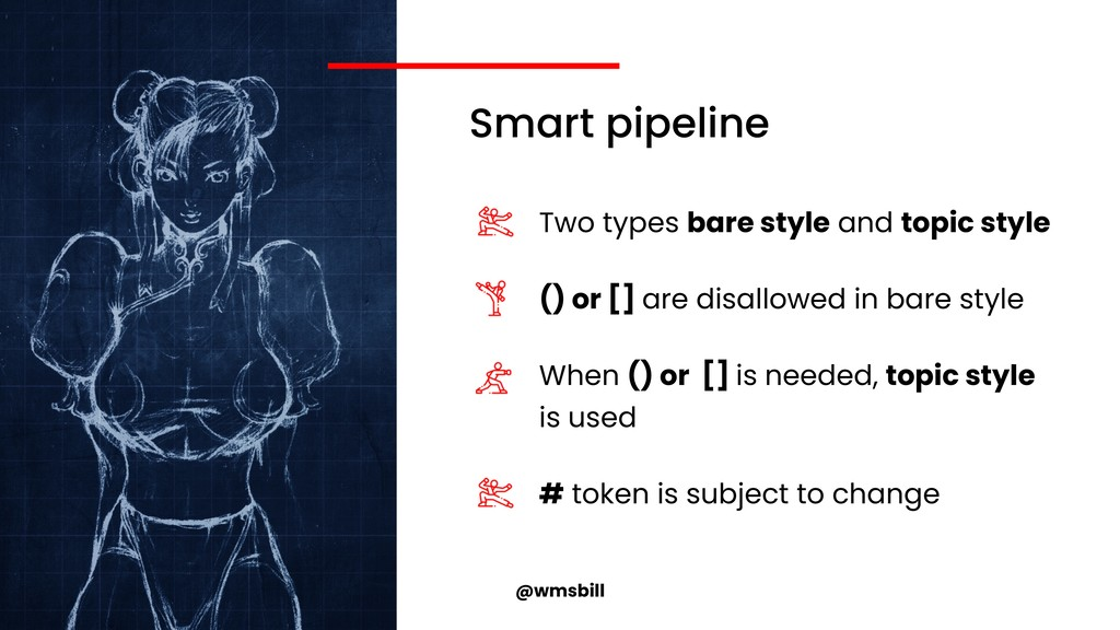 @wmsbill Smart pipeline Two types bare style an...