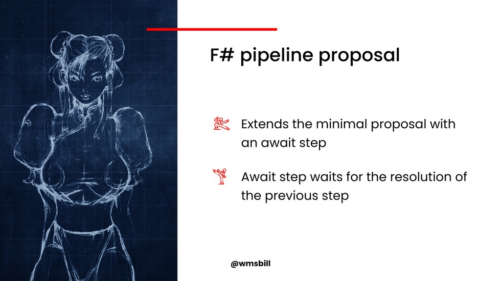@wmsbill F# pipeline proposal Extends the minim...