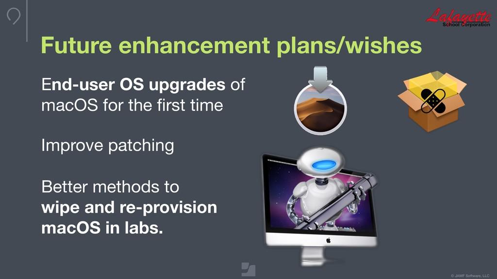 © JAMF Software, LLC Future enhancement plans/w...