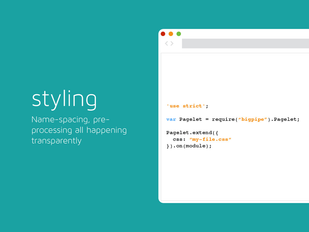 styling Name-spacing, pre- processing all happe...