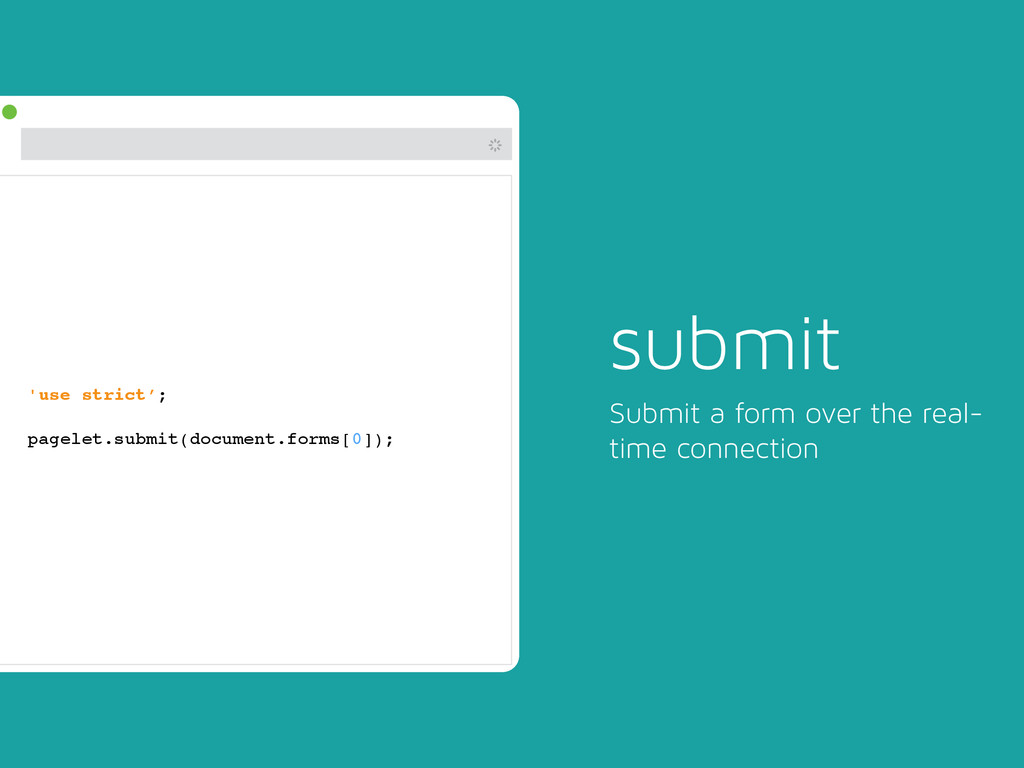 # 'use strict';! ! pagelet.submit(document.form...