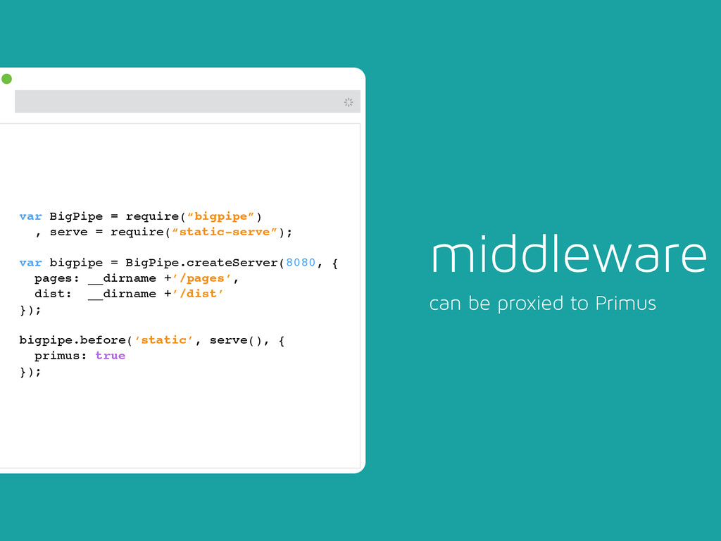# middleware can be proxied to Primus var BigPi...